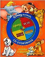 Disney Animals CD Storybook: The Lion King / 101 Dalmatians / Bambi / Dumbo