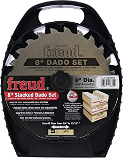"""Freud 8"""" Stacked Dado Set for All Saws (SD208S)"""