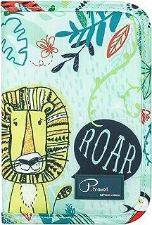 VanFn Travel Passport Wallet, Passport Holder for Family, P.Travel Series (Forest)