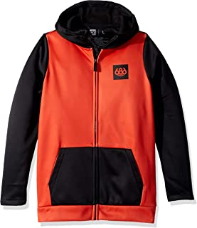 686 Boys' Bonded Zip-Up Hoody   Jersey and Fleece Backed Jackets