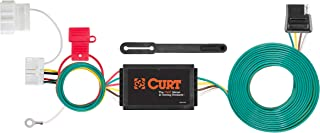 CURT 56378 Vehicle-Side Custom 4-Pin Trailer Wiring Harness for Select Honda Odyssey