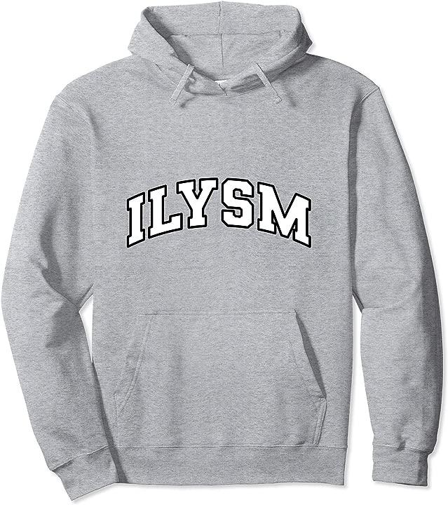 ILYSM COLLEGIATE 2.0 Pullover Hoodie