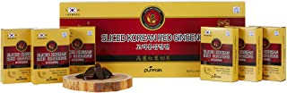 [Authentic] 6years Korean Red Ginseng Slices with Honey by PureGin - 200g, 7oz (20g X 10bags) | Made in Korea | Boosting E...