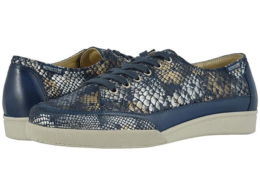 [メフィスト] レディースウォーキングシューズ?カジュアルスニーカー?靴 Delya Navy Boa/Nana 36.5 (US Women's 6.5) (23.5cm) B [並行輸入品]