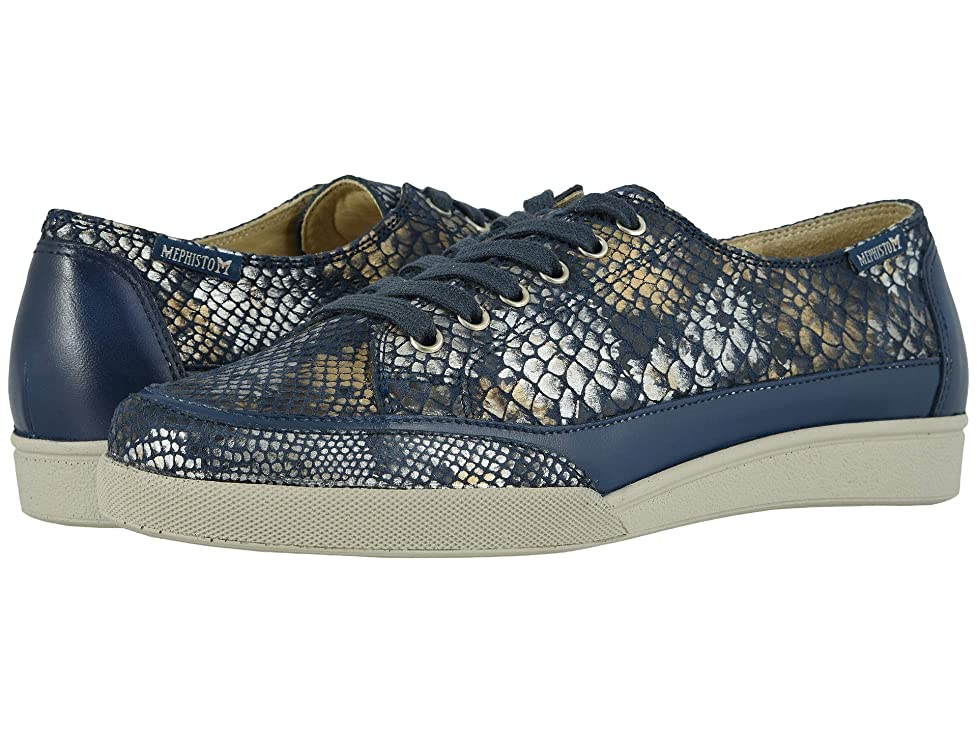 [メフィスト] レディースウォーキングシューズ?カジュアルスニーカー?靴 Delya Navy Boa/Nana 38.5 (US Women's 8.5) (25.5cm) B [並行輸入品]
