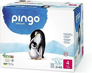 Pingo Pañales 7-18 Kg, Talla 4, Pack de 80