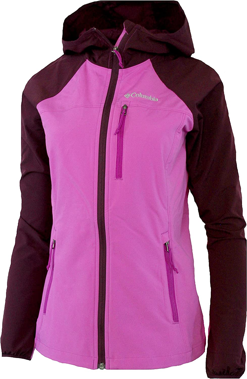 Columbia Women's Green Lake Hooded Softshell Full Zip Jacket