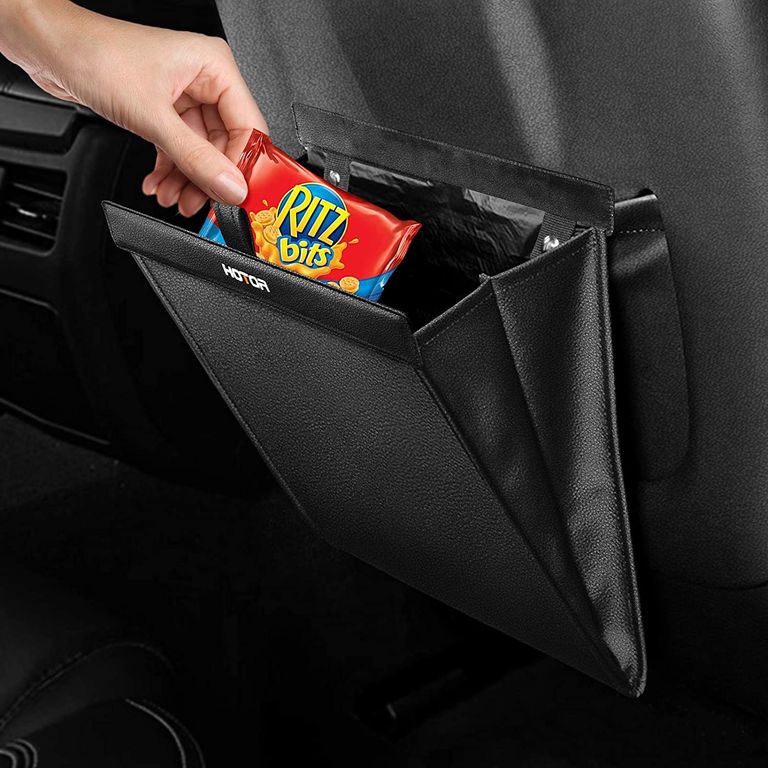 HOTOR Car Max 81% OFF Trash shipfree Can - Storing for Compact Organizing