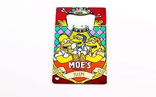 Moe, Homer Simpson, and Barney Gumble Bottle Opener 3.25x2