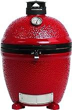 Kamado Joe KJ23NRHC Classic II Stand-Alone Grill, Blaze Red