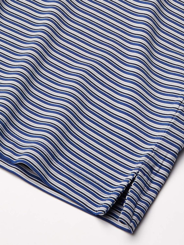 Cutter & Buck mens Big & Tall 50+ Upf Division Stripe Polo Shirt
