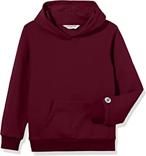 Kid Nation Kids' Soft Brushed Fleece Casual Basic Pullover Hooded Sweatshirt Hoodie for Boys or Girls
