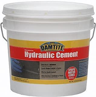 Damtite 07121 Gray Waterproofing Hydraulic Cement, 10 lb. Pail