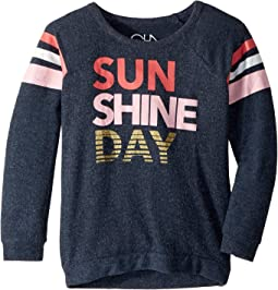 Super Soft Sunshine Day Love Knit Pullover (Little Kids/Big Kids)