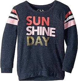 Super Soft Sunshine Day Love Knit Pullover (Little Kids/Big Kids)