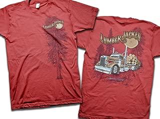 Big Rig Tees 'Lumber Jacked' T-Shirt (X-Large)