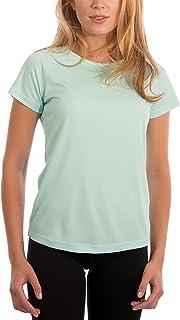 Vapor Apparel Women's UPF 50+ UV/Sun Protection Short Sleeve T-Shirt