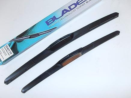 Bongo última estilo híbrido limpiaparabrisas cuchillas 24 x 16