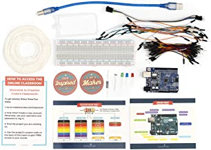 Creation Crate 1 Electronic Project | Arduino UNO R3 Starter Kit with Online Courses | | Learn Circuits, Science, Technology, Engineering, Coding By Building | STEM Subscription Box of the Year