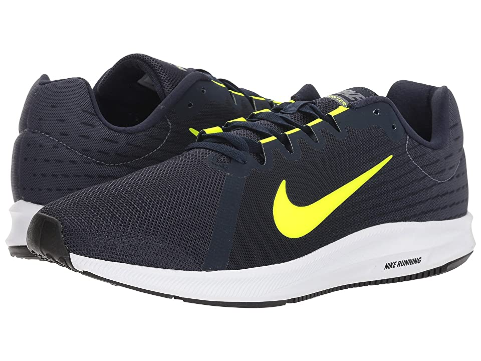 Nike Downshifter 8 (Light Carbon/Volt/Obsidian/Black) Men