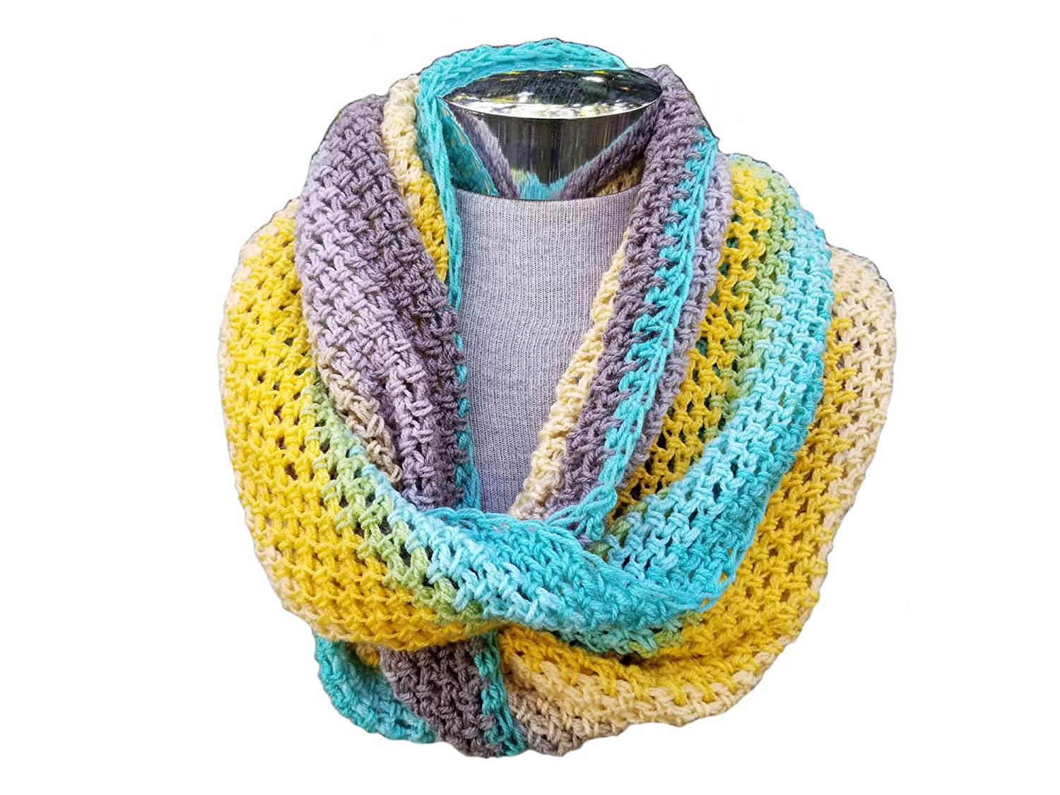 High quality new Crocheted Raleigh Mall Infinity Scarf