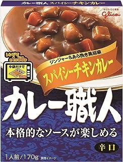 江崎グリコ カレー職人スパイシーチキンカレー辛口170g