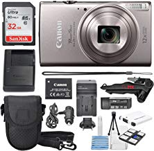 Canon PowerShot ELPH 360 HS(Silver)with 12x Optical Zoom...