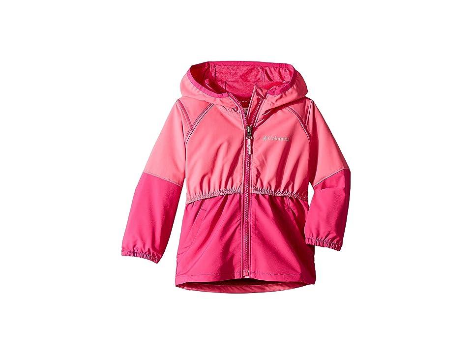 Columbia Kids Hidden Canyontm Softshell Jacket (Toddler) (Wild Geranium/Haute Pink) Girl