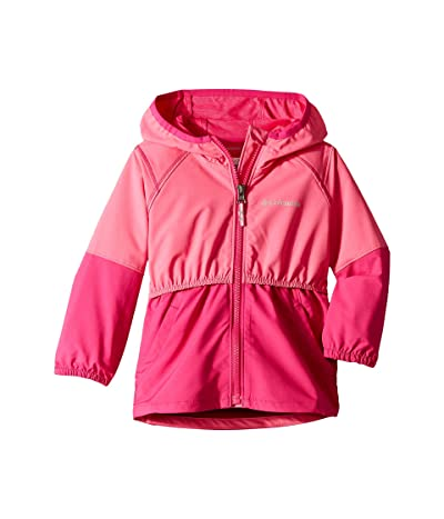 Columbia Kids Hidden Canyontm Softshell Jacket (Toddler) (Wild Geranium/Haute Pink) Girl