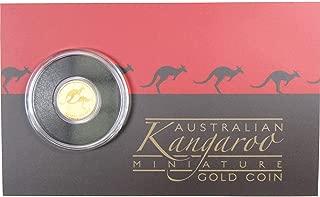2018 $2 Australian Gold Kangaroo Mini Roo .9999 0.5 g Gold Coin Choice Proof