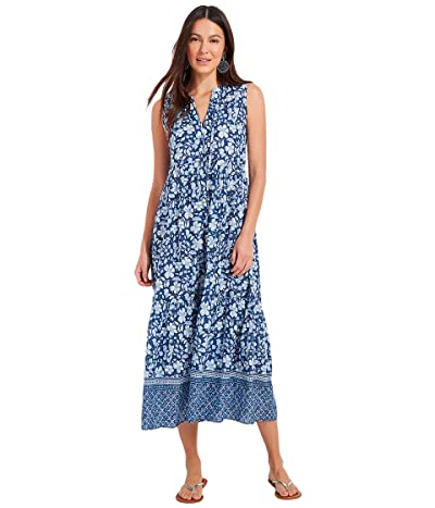 Vineyard Vines Hibiscus Tiered Breezy Maxi Women