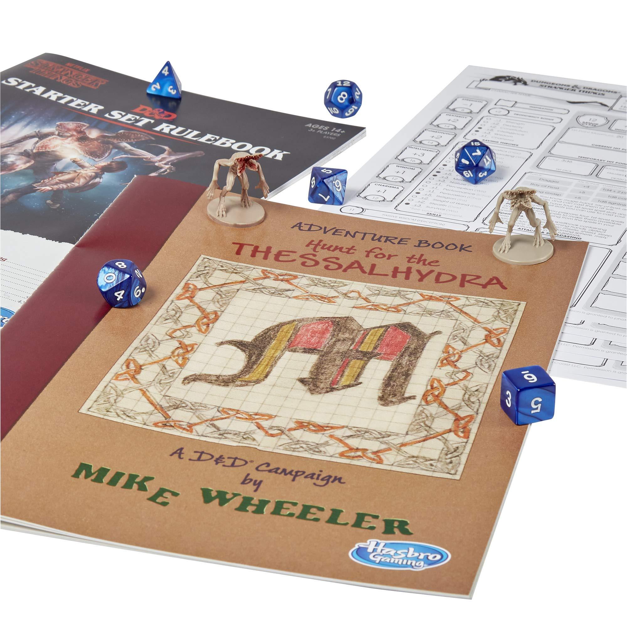 Hasbro Gaming Dungeons & Dragons Stranger Things E3702102, Juego de Iniciación Multicolor, [Versión en Idioma Inglés]: Amazon.es: Juguetes y juegos