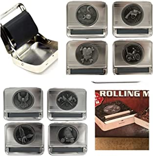 Rolling Cigarette Machine-Roll Your Own Cigarettes Machine-Tobacco Joint Rolling Machine 2 Pack Random Designs