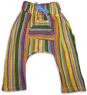 Infant/Toddler Baja Harem Pants Multi-Stripe Sweater with Pocket