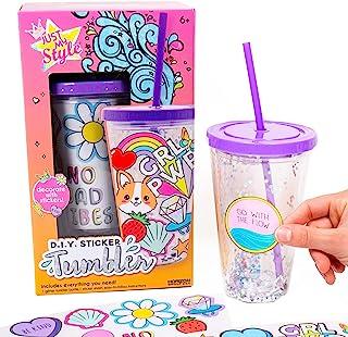 Glitter Water Bottle Craft