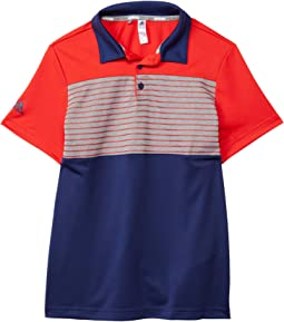 Engineered Stripe Polo Shirt (Little Kids/Big Kids)