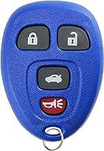KeylessOption Keyless Entry Remote Control Car Key Fob Replacement for 15252034 -Blue