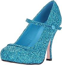 blue glitter shoes womens