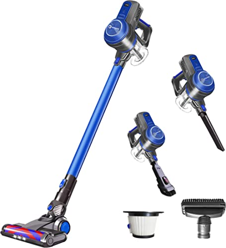 NEQUARE Cordless Vacuum Cleaner 18KPa Super Suction Pet Hair Eraser 4 in 1 Cordless Stick Vacuum Convenient& Easy Empty Dirt Bin 35Min Long-Lasting Lightweight& Versatile with Multiple Brush for Home product image