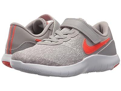Nike Kids Flex Contact (Little Kid) (Atmosphere Grey/Total Crimson/Vast Grey) Boys Shoes