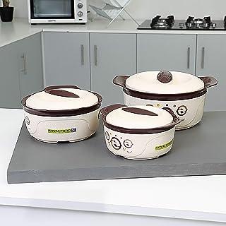 Royalford 3pcs Shezan Hot pot (1000+1500+2500 ML)