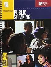 Introduction to Public Speaking Custom Edition for Georgia Perimeter College