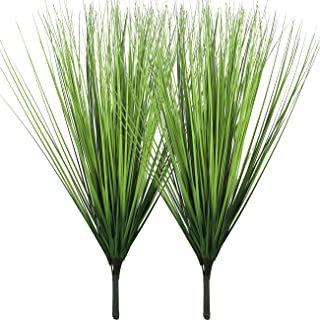 """Artificial Plants Fake Wheat Grass Plant Faux Stems Greenery Ferns for Outdoor Indoor Floral Wedding Decor 23.6"""""""