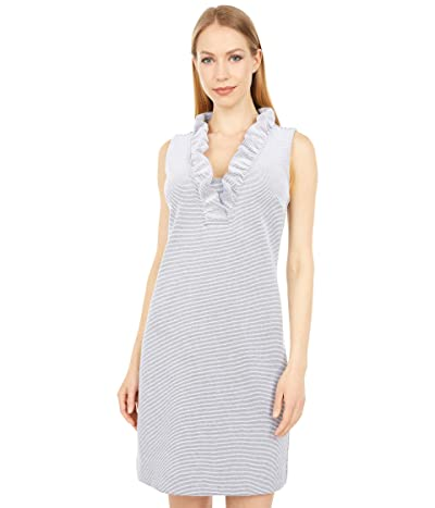 Lilly Pulitzer Tisbury Shift (True Navy Lucky Catch Stripe) Women