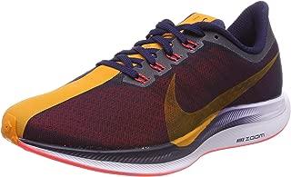 Men's Air Zoom Pegasus 35 Turbo Running Shoes (11, Black/Orange)