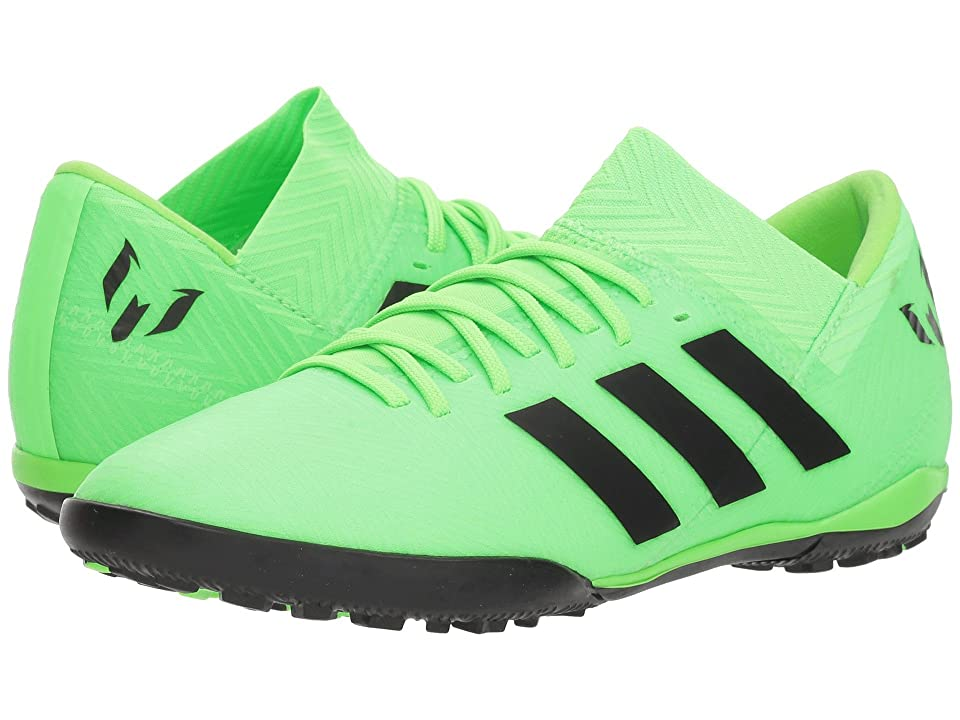 adidas Kids Nemeziz Messi Tango 18.3 TF Soccer (Little Kid/Big Kid) (Solar Green/ Core Black/ Solar Green) Kids Shoes