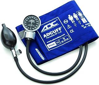 ADC Diagnostix 700 Pocket Aneroid Sphygmomanometer with Adcuff Nylon Blood Pressure Cuff, Adult, Royal Blue