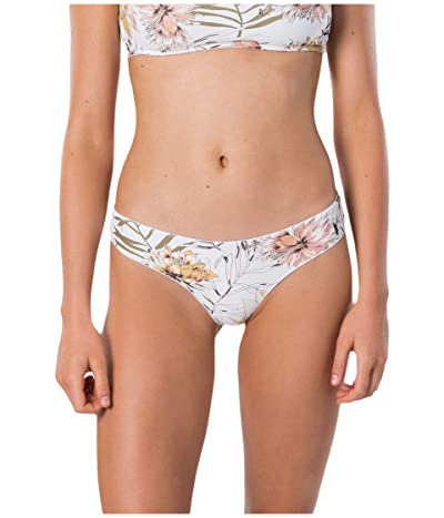 Rip Curl Playa Blanca Ruched Cheeky (White) Women