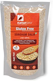 NaturPro Gluten Free Jowar Dalia (350 GMS) - Set of 2