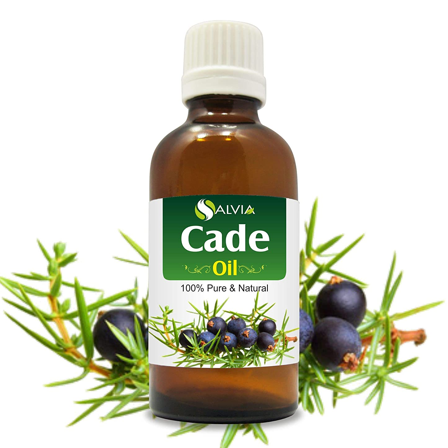 野ウサギ動力学居眠りするCade Essential Oil (Juniperus oxycedrus) Therapeutic Oil 100% Pure & Natural - Undiluted Uncut Aromatherapy Oil - 50 ML